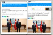 Deutsche Welle und Heiko Maas – mal mit, mal ohne Maske