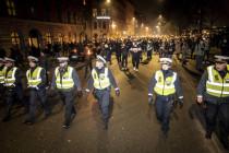 Anti-Lockdown-Krawalle in den Niederlanden und in Dänemark