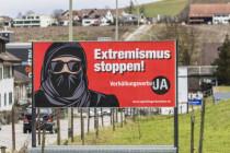 Volksabstimmung: Schweiz beschließt landesweites Vollverschleierungsverbot