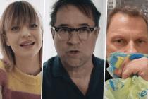 """""""Alles dicht machen!"""": Schauspieler proben satirischen Aufstand gegen die Corona-Politik"""