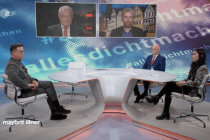 """Jan Josef Liefers bei Illner: """"Wenn ich sage 2+2=4, ist das richtig, auch wenn jemand von der AfD zustimmt"""""""