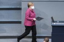 """""""Das Virus verzeiht kein Zögern"""" – Merkel verzichtet auf Argumente für Grundrechtseinschränkungen"""