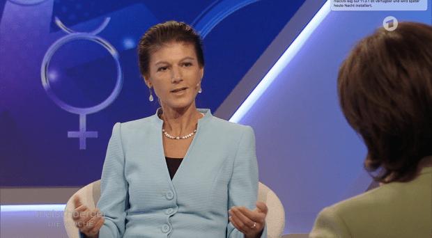 """Sahra Wagenknecht: """"Die Menschen fühlen sich bevormundet und belehrt"""""""