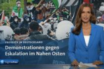 Wie die Tagesschau offenen Antisemitismus auf Demonstrationen verschweigt