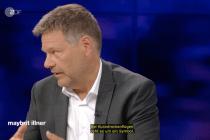 """Wie Robert Habeck bei """"Maybrit Illner"""" die Katze aus dem Sack ließ"""
