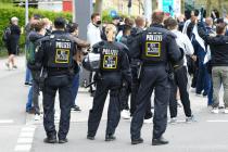 Massenrandale in München und anderen Städten