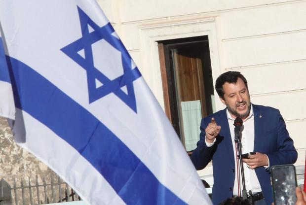 Salvini steht zu Israel und erhält Morddrohungen