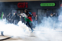 Straßenschlacht in Paris nach Verbot von Demonstrationen gegen Israel