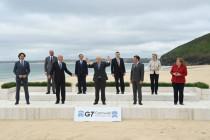 Merkel in sprechenden Bildern beim G7-Gipfel