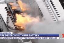 Australien: Riesenbatteriebrand bei Tesla in Moorabool