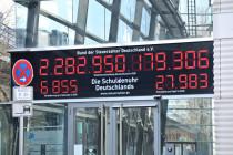 Adé schwarze Null – Deutschlands Staatsschulden auf Rekordhoch