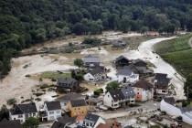 """Faktencheck: Was das Hochwasser wirklich mit """"Klima"""" zu tun hat."""