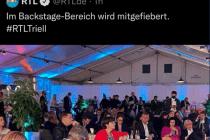 Backstage ohne Maske: RTL löscht Bild von Spitzenpolitikern