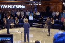 """Linke Aktivisten stellen in der ARD-Wahlarena """"Bürgerfragen"""""""