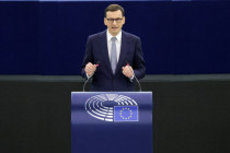 Premier Mateusz Morawiecki vertritt vor der EU die rechtliche Unabhängigkeit Polens