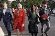 Rot-grün-dunkelrote Koalition verhandelt in Berlin