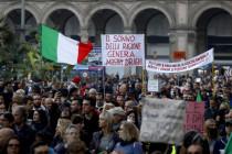 """Italien: Massenproteste gegen """"Green Pass"""" dauern an – Draghi unbeirrt"""